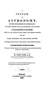 A System of Astronomy: On the Principles of Copernicus