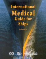 International Medical Guide for Ships  Third Edition PDF