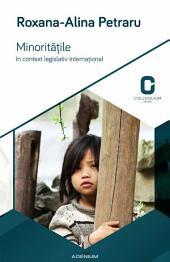 Minorităţile în context legislativ internaţional