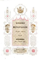 Gemme Metastasiane Raccolte e disposte Da F. S. Strenna