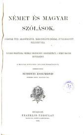 Deutsche und ungarische Redensarten