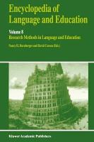 Encyclopedia of Language and Education PDF