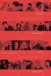 Great Canadian Film Directors PDF