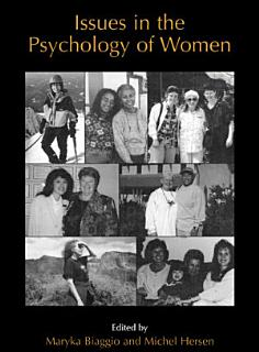 Issues in the Psychology of Women Book