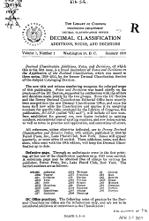 Dewey Decimal Classification Additions  Notes  and Decisions PDF
