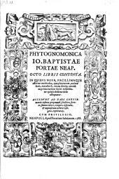 Phytognomonica ... Octo Libris Contenta (etc.)