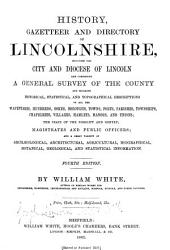 History, gazetteer, and directory, of Lincolnshire, and the city & diocese of Lincoln