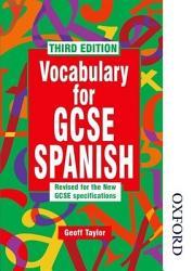Vocabulary For Gcse Spanish Book PDF