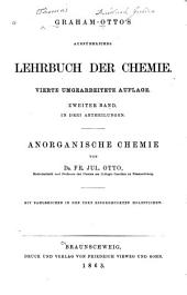 Graham-Otto's ausführliches lehrbuch der chemie: Band 2,Teil 1