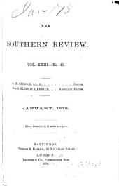 The Southern Review: Volumes 23-24