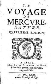 Le Voyage de Mercure: satyre