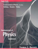 Fundamentals of Physics  Student Study Guide PDF