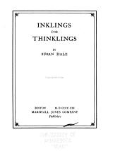 Inklings for Thinklings
