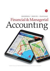 Financial & Managerial Accounting: Edition 14
