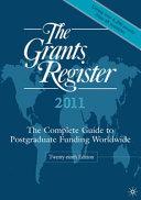 The Grants Register 2011