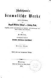 Shakespeare's dramatische Werke: König Heinrich der Achte