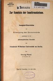 Zur Kenntnis der Isonitrosoketone