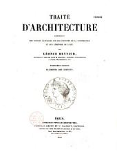 Traité d'architecture: contenant des notions générales sur les principes de la construction et sur l'histoire de l'art