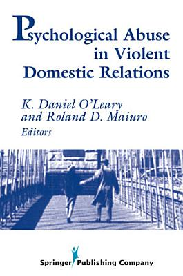 Psychological Abuse in Violent Domestic Relations PDF