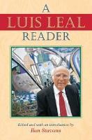 A Luis Leal Reader PDF