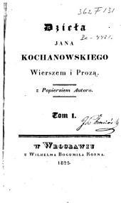 Wierszem i proza: Z popiersiem autora