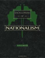 Encyclopedia of Nationalism  Two Volume Set PDF