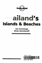 Thailand s Islands   Beaches PDF