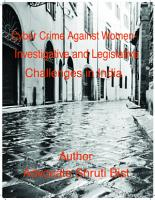 CYBER CRIME AGAINST WOMEN IN INDIA    INVESTIGATIVE AND LEGISLATIVE CHALLENGES PDF