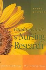 Fundamentals of Nursing Research