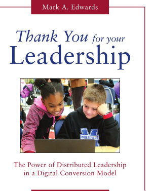 Thank You for Your Leadership