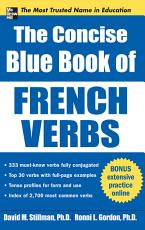 The Concise Blue Book of French Verbs PDF