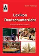 Lexikon Deutschunterricht PDF