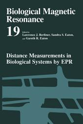 Distance Measurements in Biological Systems by EPR