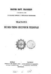 Tractatus de Deo Trino secundum personas
