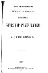 Bulletin: A chemical study of the apple and its products. By C.A. Browne. 1899: Issue 152