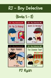 RJ - Boy Detective Books 5-8 Bundle