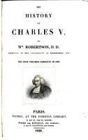The History of Charles V  PDF
