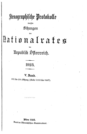 Stenographische Protokolle PDF