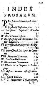 Posthumae Bernardini Stephonij e Societate Iesu. prosae quae ex quamplurimis non perierunt