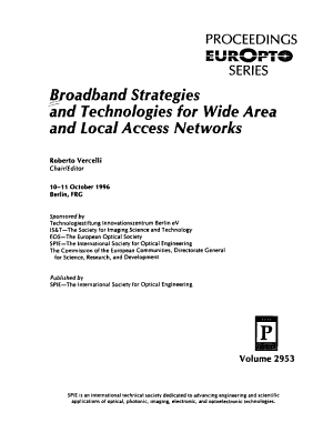 Broadband Strategies and Technologies for Wide Area and Local Access Networks PDF