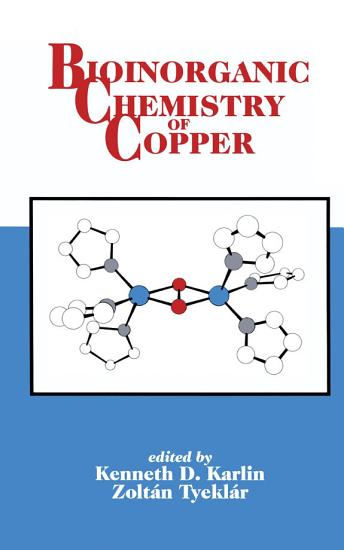 Bioinorganic Chemistry of Copper PDF
