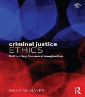 Criminal Justice Ethics PDF