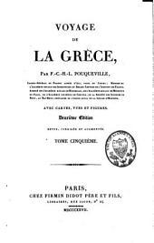 Voyage de la Grèce: Volume5