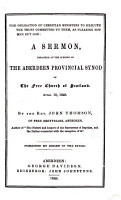 The Obligation of Christian Ministers to Execute the Trust Committed to Them  as Pleasing Not Men  But God  A Sermon  Etc PDF