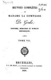 Œuvres complètes de Madame la Comtesse De Genlis: Volume6