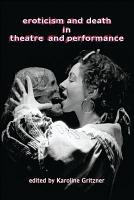 Eroticism and Death in Theatre and Performance PDF