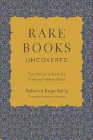 Rare Books Uncovered PDF