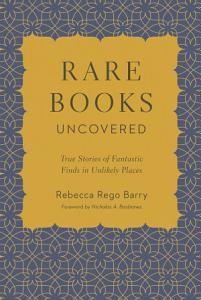 Rare Books Uncovered Book
