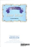Bow Wow PDF