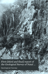 First-[third and Final] Report of the Geological Survey of Natal and Zululand: Volume 1